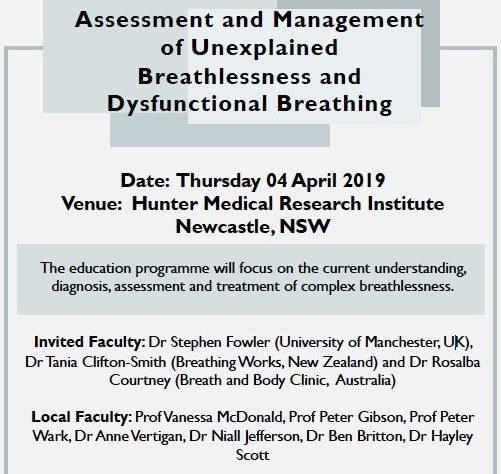 Breathlessness Workshop