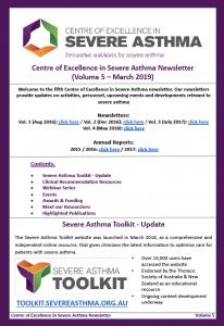 severe asthma newsletter